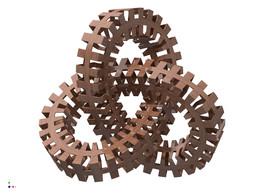 M.C. Escher Trefoil Knot