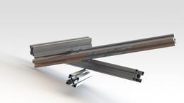 Aluminium profile - perfil de aluminio