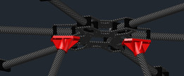 Fpv Hexacopter Landing Gear (3D PRINTED)