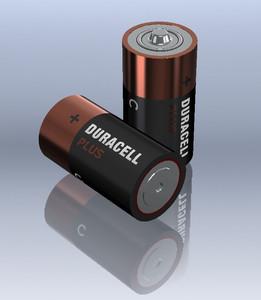 C Duracell Battery