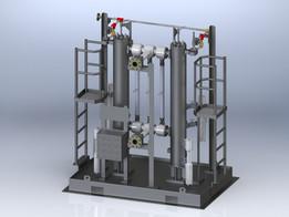 Duplex Coalescing Filter