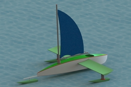 Ice Racing Yacht