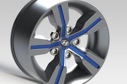 Hyundai Veloster wheel