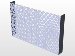 MD 57208 Union Jack - Perforated Sheet Metal
