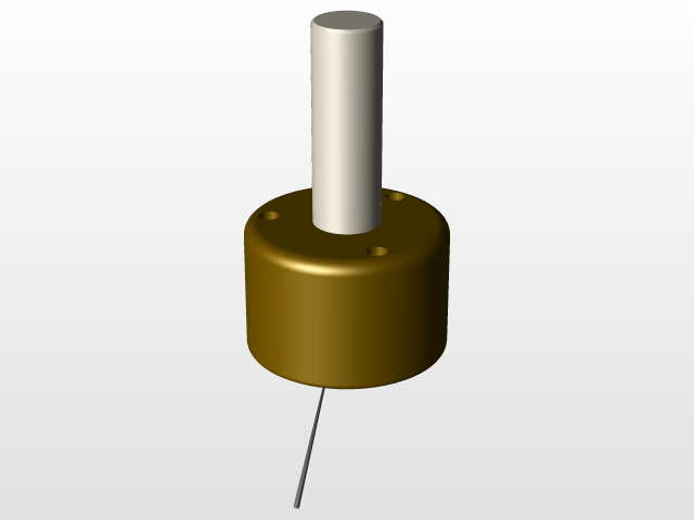 CNC Touch Probe / Digitizing probe | 3D CAD Model Library