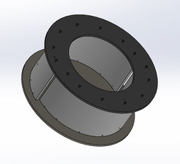Split Micro Hydro Reaction Turbine