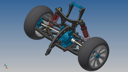 RC Car rear suspension