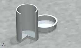 Small rubber bin