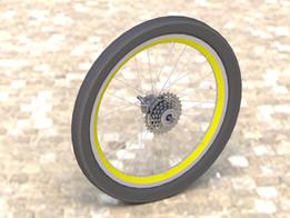 Wheel 20 & 26 inch Rear