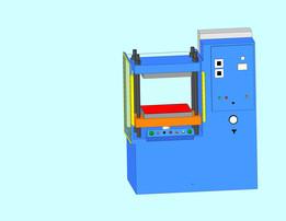50 ton Carver hot press