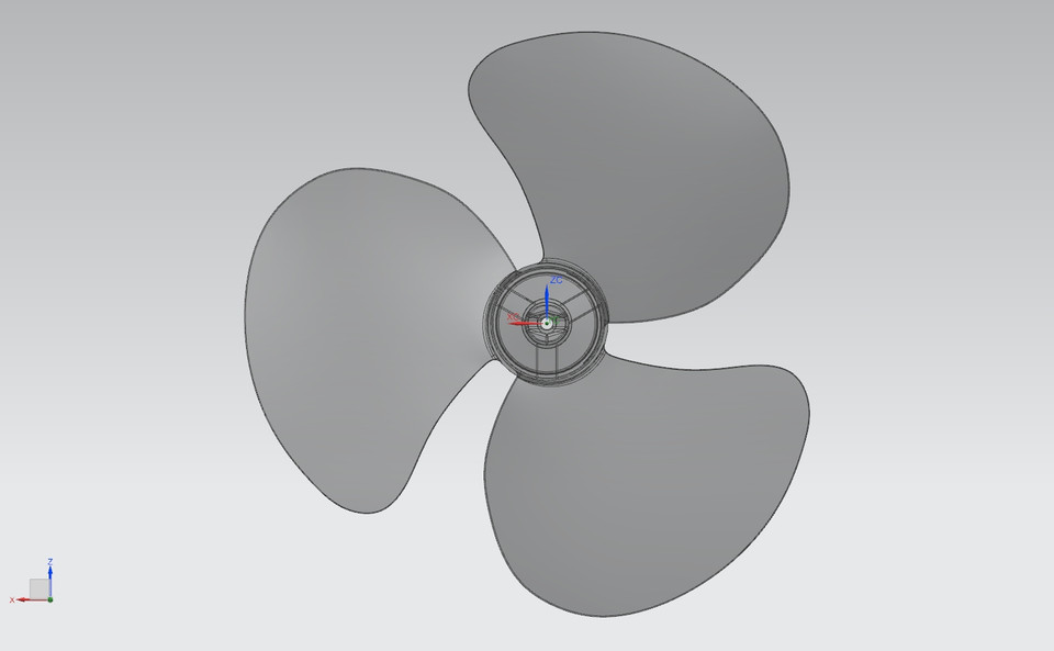 Fan 3d diagram complete wiring diagrams fan blade 3d cad model library grabcad rh grabcad com 3d diagram software data center network diagram ccuart Image collections