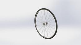 Cycle tyre/wheel