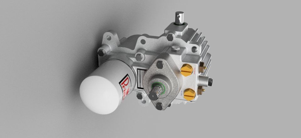 Sauer Danfoss 15 Series U Type Hydrostatic Transmission