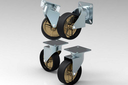 Blickle caster wheels