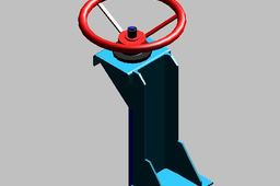 Penstock Hand Actuator