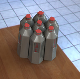 test Bottle for challenge