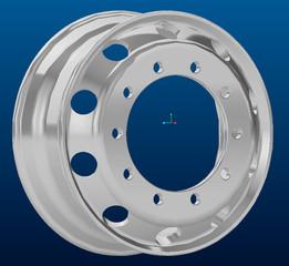 Trailer Wheel 22.5 x 8.25 Aluminum (Aluminium)