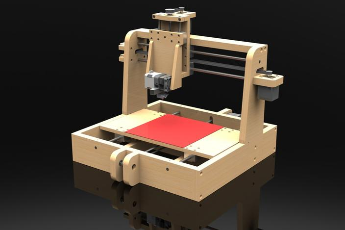 Diy 3d Printer Solidworks 3d Cad Model Grabcad