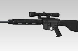 AR-15 Flat top rifle
