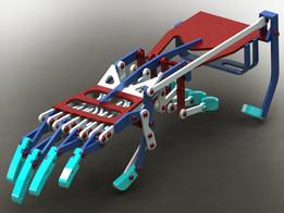 mechanical hand modified