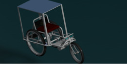 Leg Controlled Solar Tri Cycle