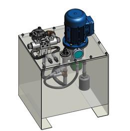 hydraulic power unit 1/2 Hp