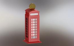Telephone Money Box