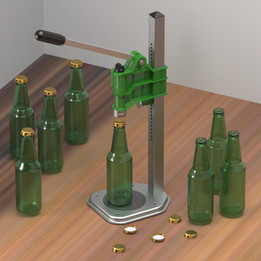 The bottle closing device
