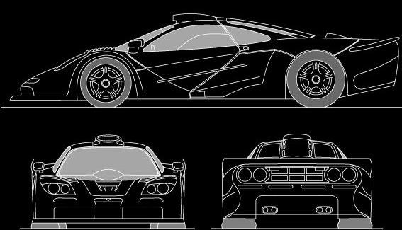 Mclaren Supercar 3d Cad Model Library Grabcad