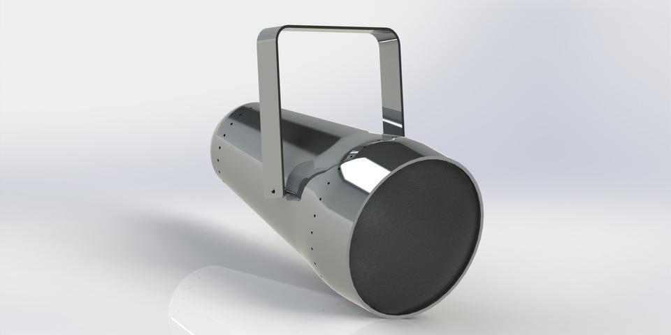 Interior Lighting (spotlight) | 3D CAD Model Library | GrabCAD