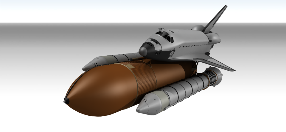Space Shuttle | 3D CAD Model Library | GrabCAD