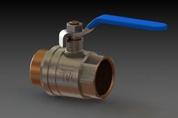 Ball valve 1 1/4