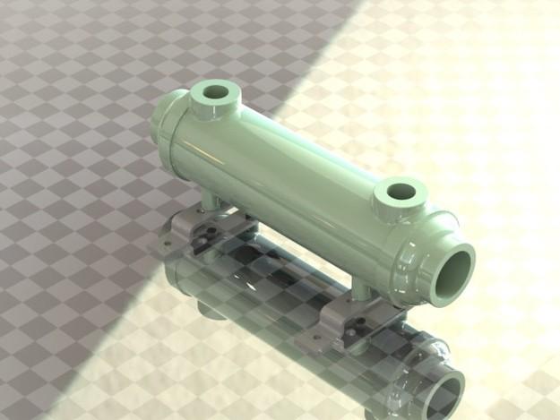 Bowman swimming pool heat exchanger model 3705 3 stl - Bowman heat exchangers for swimming pools ...