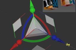 move rotate scale gizmo axial planar uniform X Y Z braz