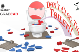 Don't Clog the Toilet Game