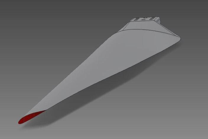 how to draw a wind turbine blade step by step