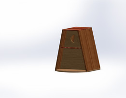 Birdhouse Triangle with flat top | Nestkast driehoek met vlakke top