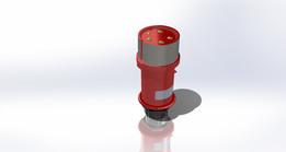 240V plug, Industrial