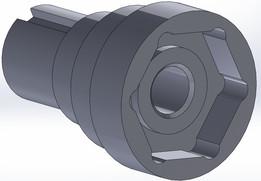 motor pulley adaptor
