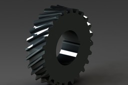 helical gear involute teeth