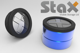 StaX Visible Storage Lid