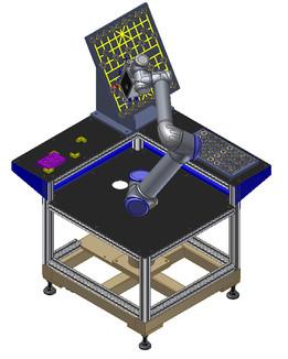 UR5 Robot Exhibition Machine