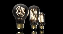 Vintage Light Bulb - Set