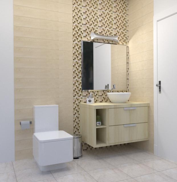 Small Bathroom Blendercad Sketchup 3d Cad Model Grabcad