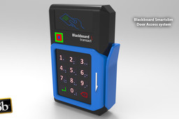 Black board smart box door access system