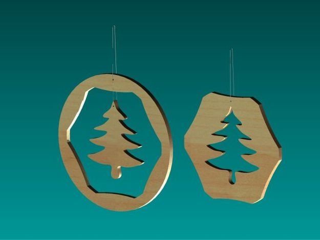 Ornaments for a christmas tree 02 autodesk inventor stl step iges 3d cad model grabcad - Dessin pintade ...