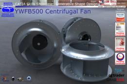 CATIA Skills Showcase - YWFB500 Centrifugal Fan