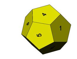Dado Dodecaedro