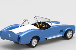 Shelby Cobra Inspired Toy Car
