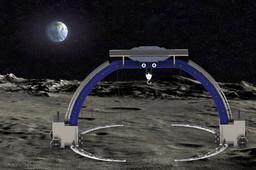 Inflatable Lunar Gantry